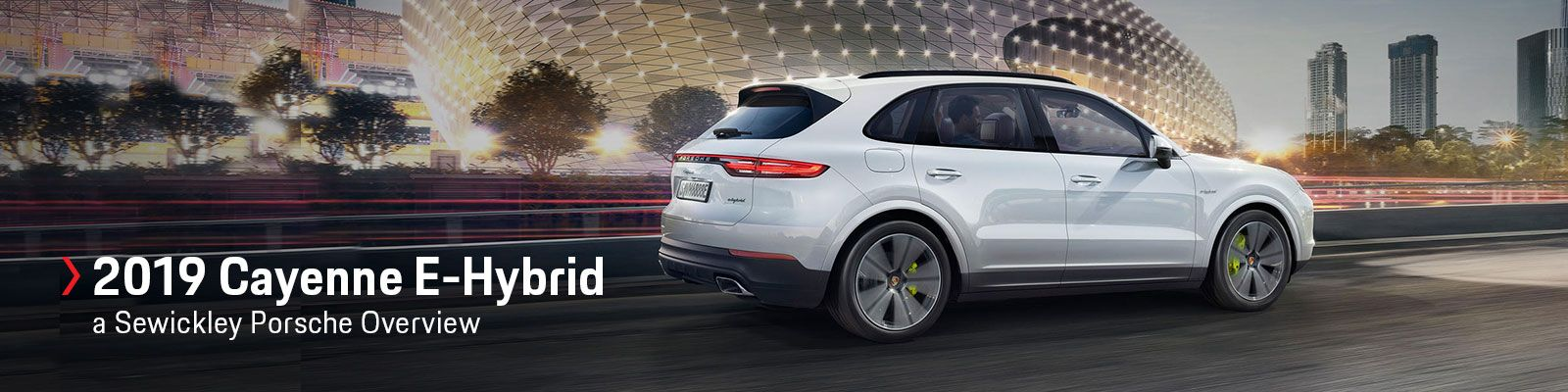 2019 Porsche Cayenne E-Hybrid Model Review
