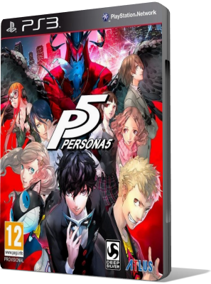 [PS3] PERSONA 5 (2017) - ENG