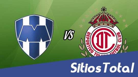 Ver Monterrey vs Toluca en Vivo – J17 Clausura 2016 – Sábado 7 de Mayo del 2016