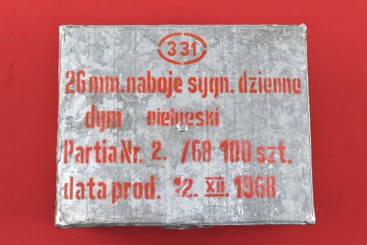 AMUNICJA 26 MM SYGNAŁOWA