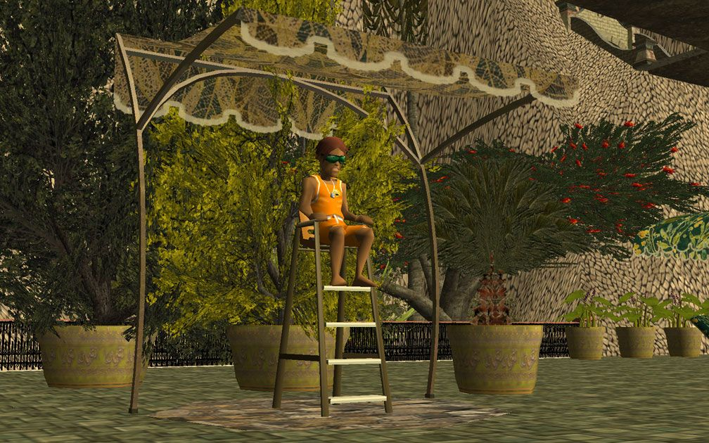 My Projects - CSO's I Have Imported, Pool Complex Accessories - Screenshot Displaying Lifeguards' CSO Canopy, Image 08