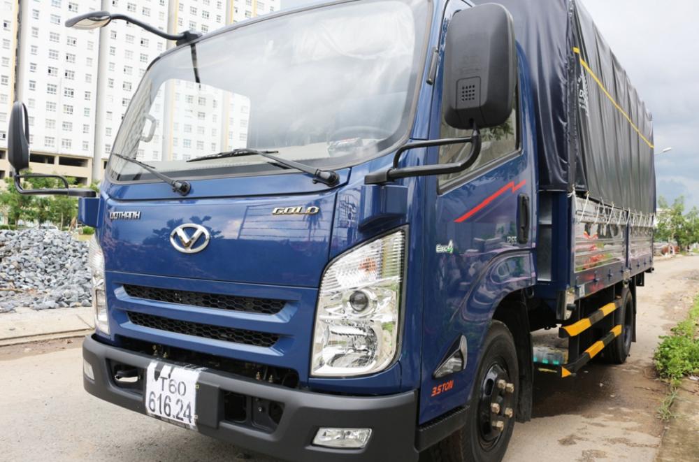 Xe tải hyundai iz65 gold thùng mui bạt