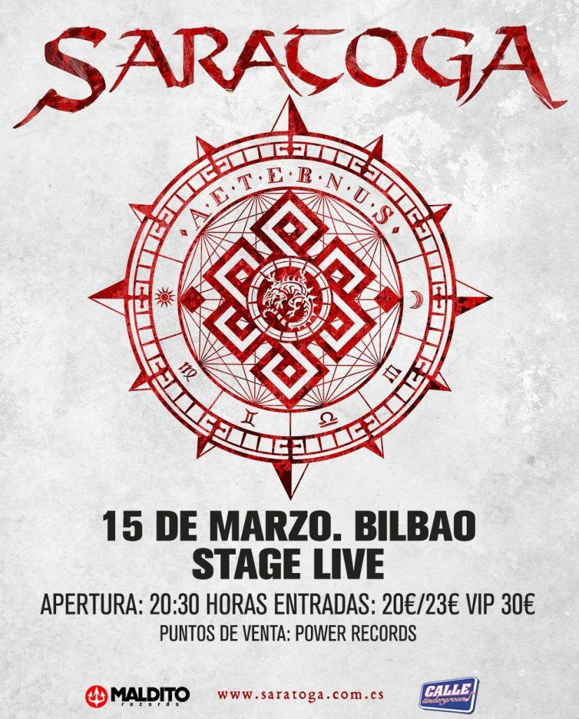 Saratoga - Aeternum en Bilbao