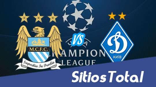 Manchester City vs Dynamo Kiev en Vivo – Champions League – Martes 15 de Marzo del 2016
