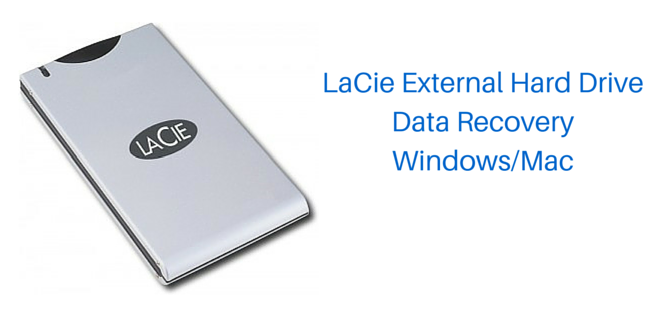 recover files from lacie drive