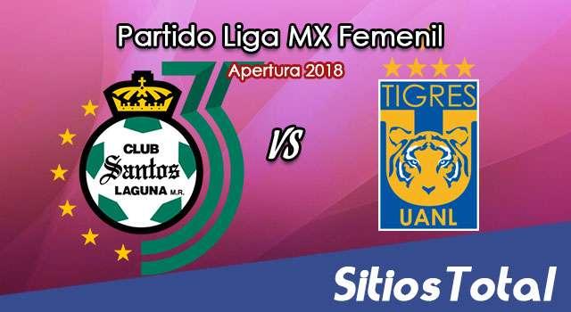 Ver Santos vs Tigres en Vivo – Liga MX Femenil – Lunes 6 de Agosto del 2018