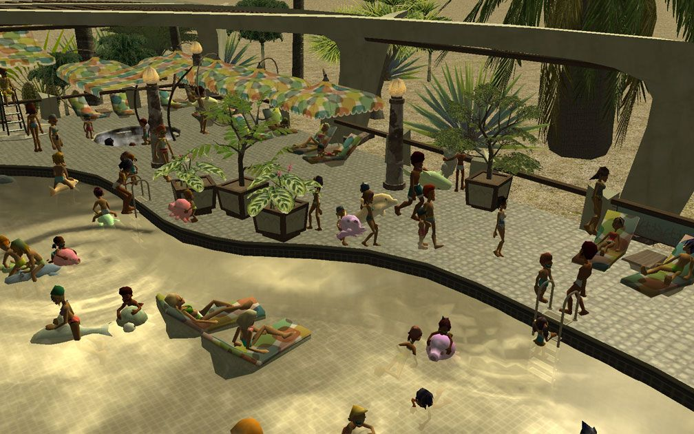 Image 05, My Projects - CSO's I Have Imported, Port Of Entry Themed Pool Complex Extras
