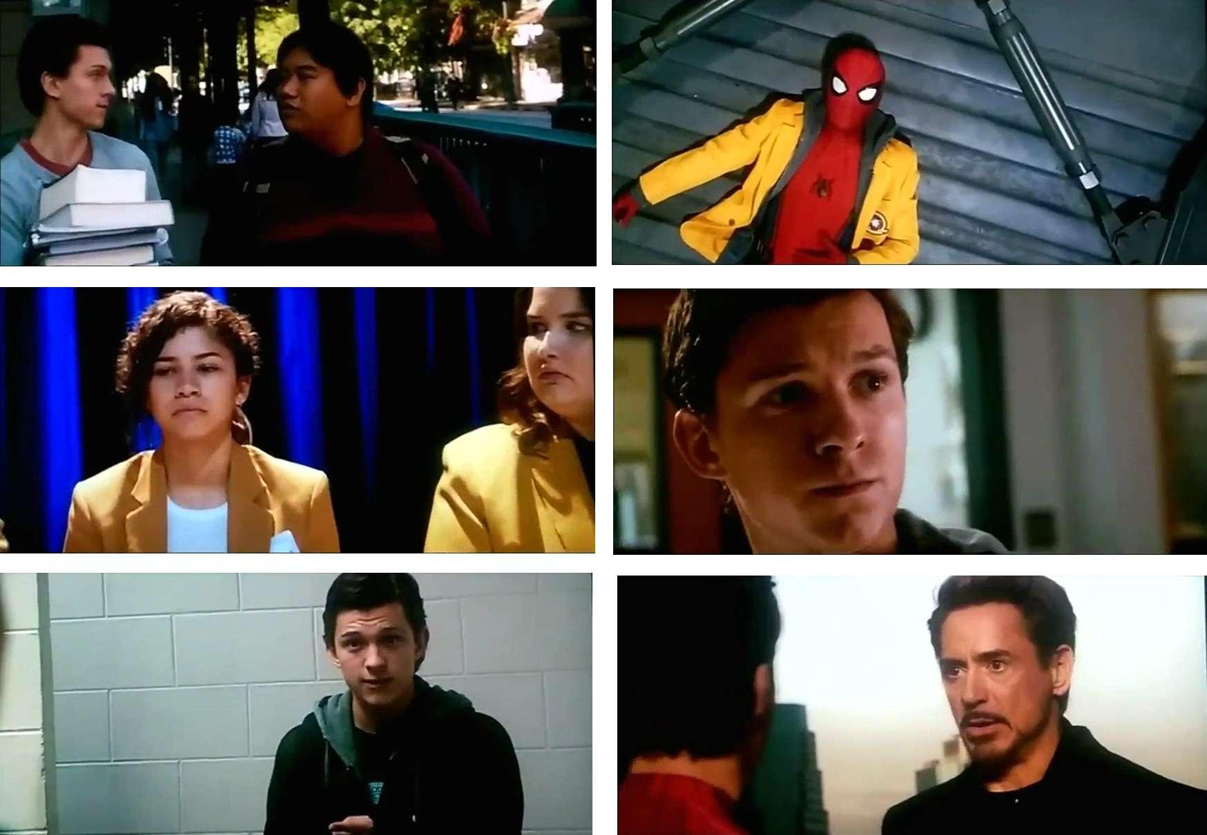 Screen Shot Spider-Man Homecoming 2017 Full HD Movie Download Hindi Dubbed