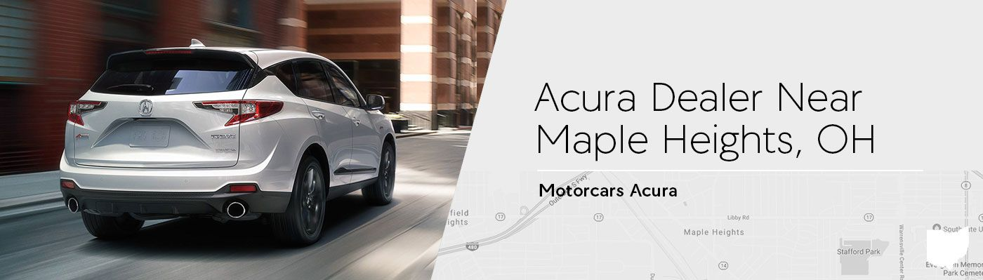 Motorcars Acura Serving Maple Heights, OH