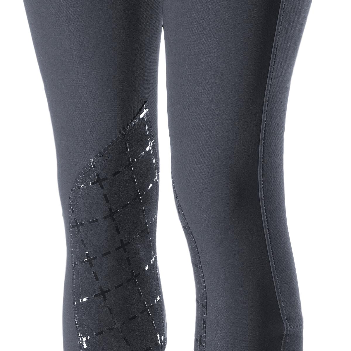 Horze-Desiree-Women-039-s-Knee-Patch-Riding-Breeches-with-High-Waist-and-Bi-Stretch thumbnail 19