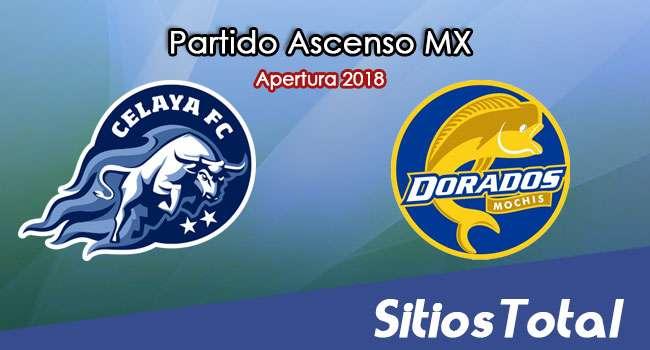 Ver Celaya vs Dorados de Sinaloa en Vivo – Ascenso MX en su Torneo de Apertura 2018
