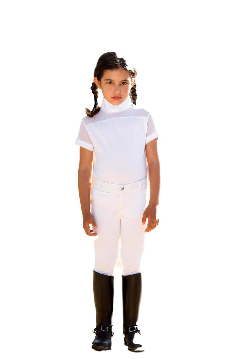 Horseware Ireland Competition Children's Emma Pique Short Sleeve Competition Ireland Top d6e991