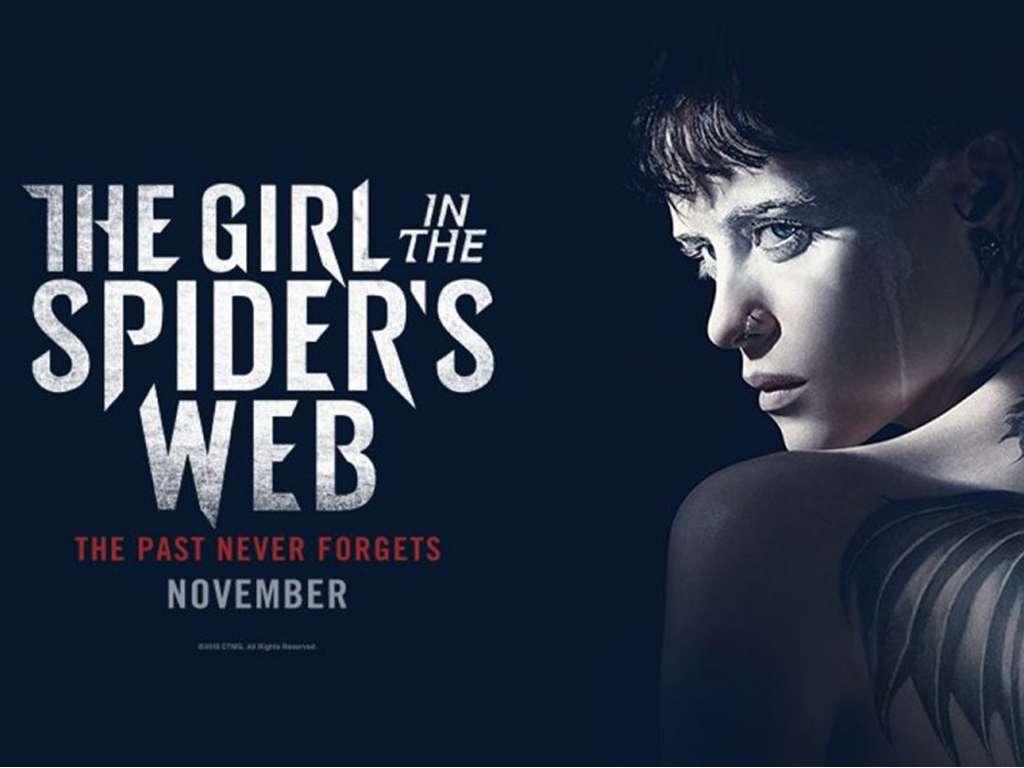 Το Κορίτσι στον Ιστό της Αράχνης (The Girl in the Spider's Web) Quad Poster Πόστερ