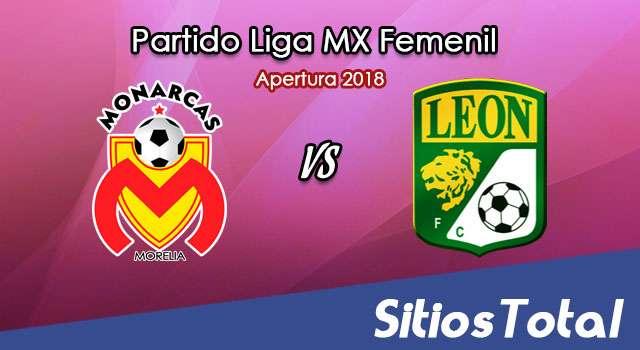 Ver Monarcas Morelia vs León en Vivo – Liga MX Femenil – Lunes 19 de Noviembre del 2018