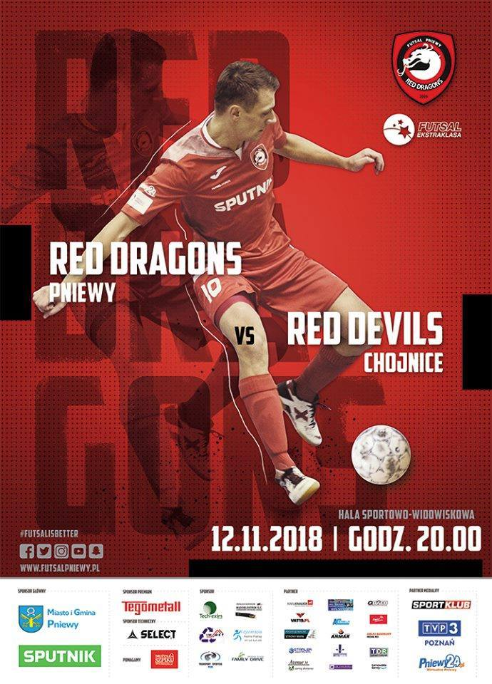 Red Dragons Pniewy – Red Devils Chojnice