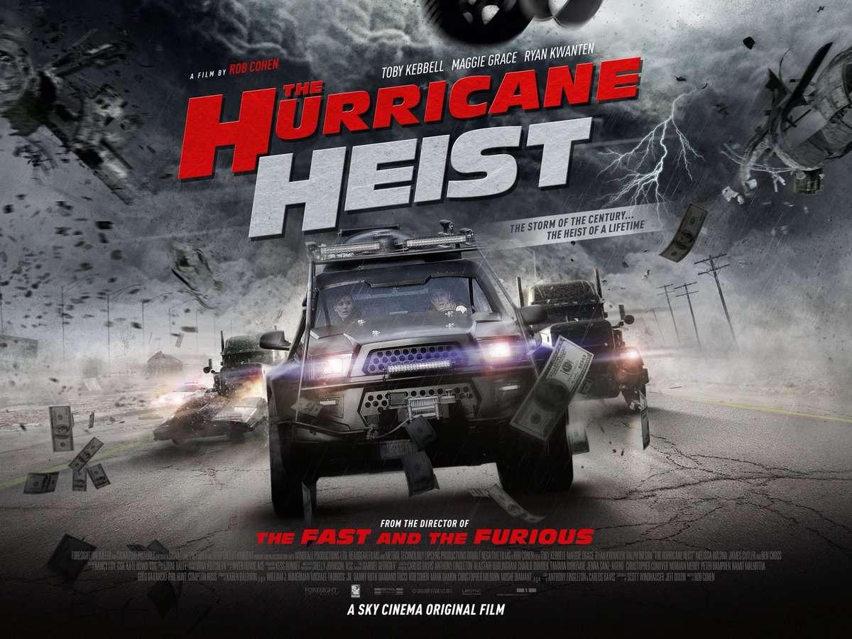 Η Συμμορία του Τυφώνα (The Hurricane Heist) Quad Poster Πόστερ