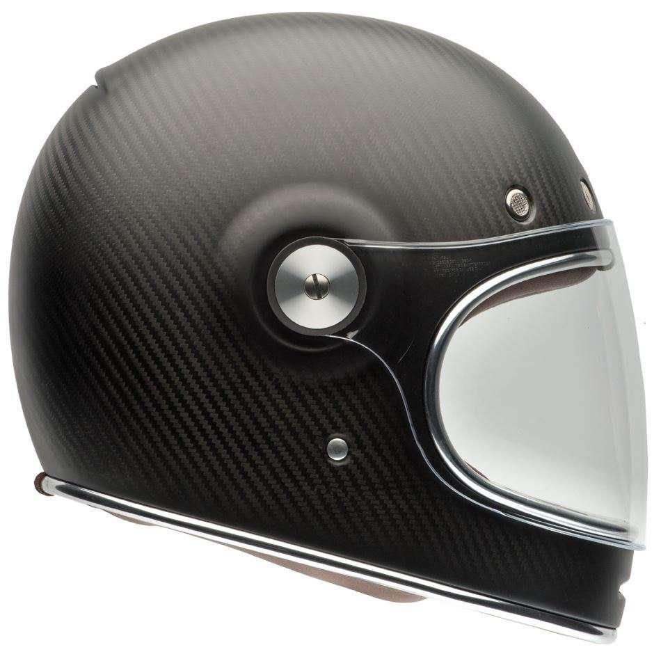 Bell Full Face Helmet >> Details About Bell Street Bullitt Carbon Full Face Motorcycle Helmet Carbon Matte