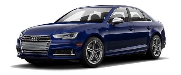 S4 3.0T Sedan w/Black Optic Package Lease Deal