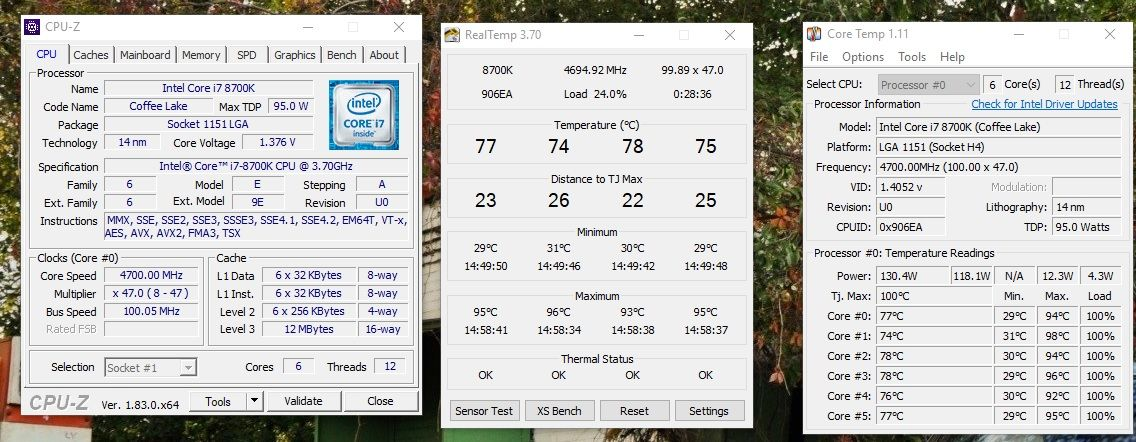i7-8700k lottery loss or Delid failure | Tom's Hardware Forum