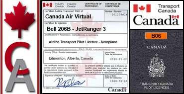 Bell 206B JetRanger 3 Certification Flight