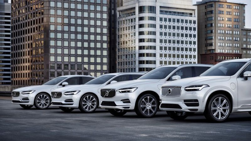 2018 Volvo Vehicle Lineup