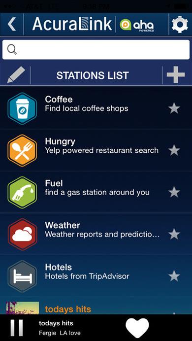 AcuraLink Streams App