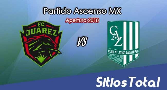 Ver FC Juarez vs Atlético Zacatepec en Vivo – Ascenso MX en su Torneo de Apertura 2018