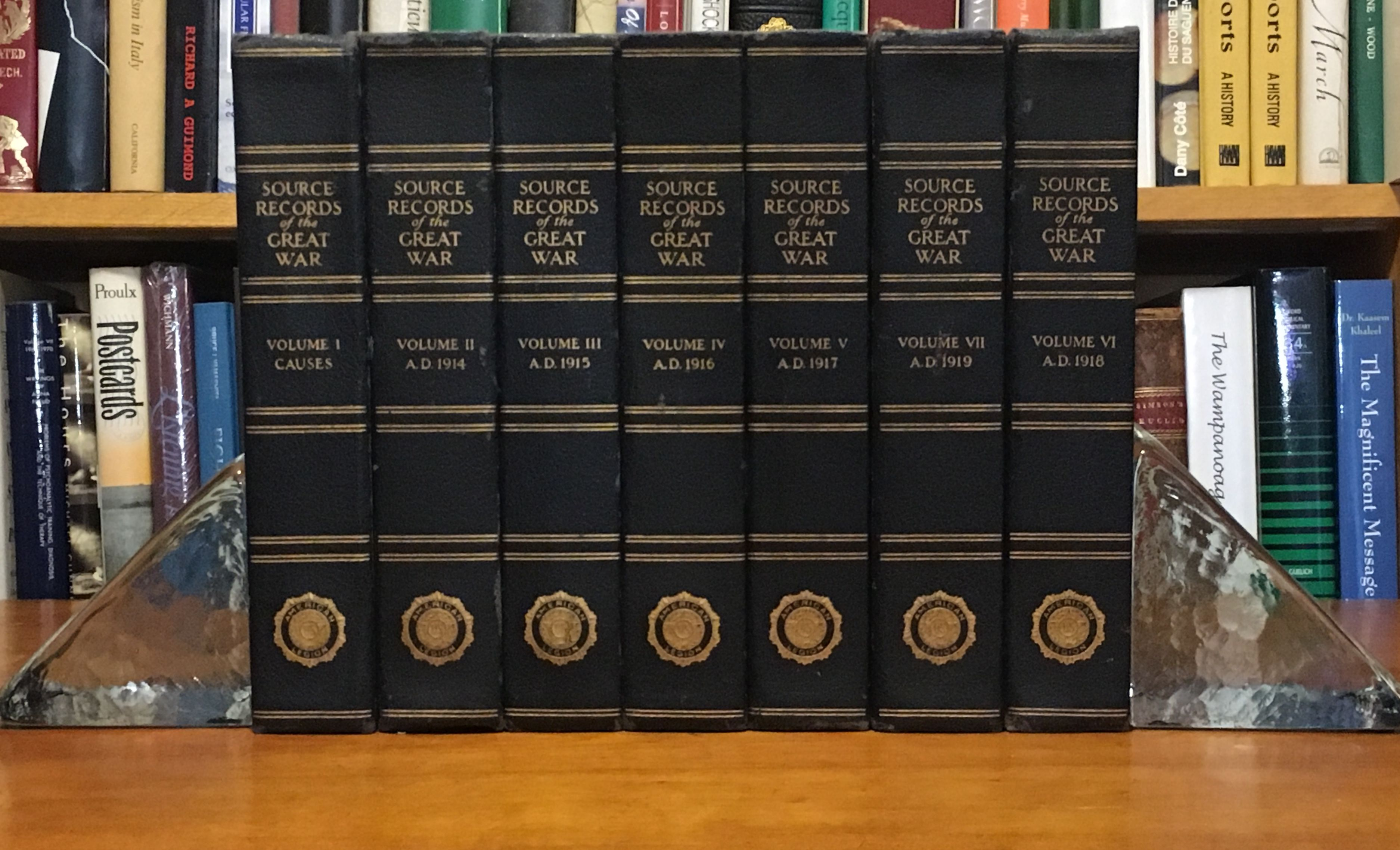 Source Records of The Great War (7 Volume Set)