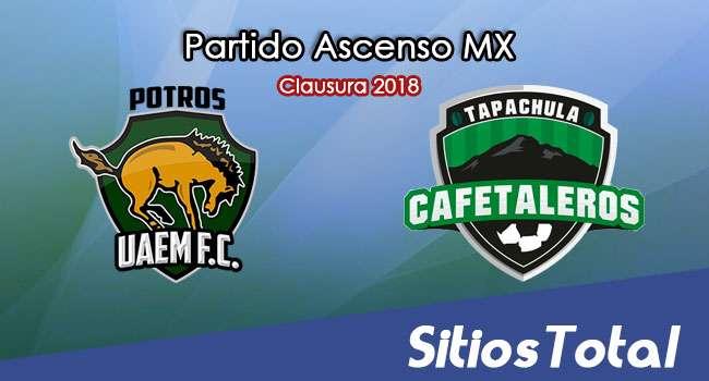 Potros UAEM vs Cafetaleros de Tapachula en Vivo – Ascenso MX – Viernes 16 de Febrero del 2018