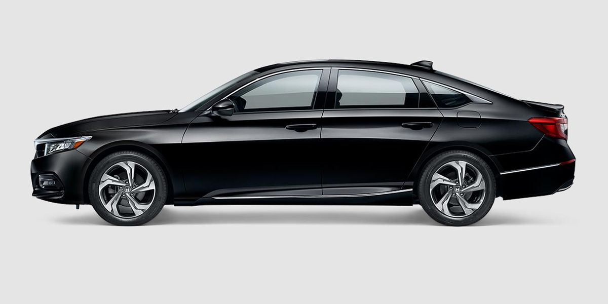 2018 Honda Accord EX in Crystal Black