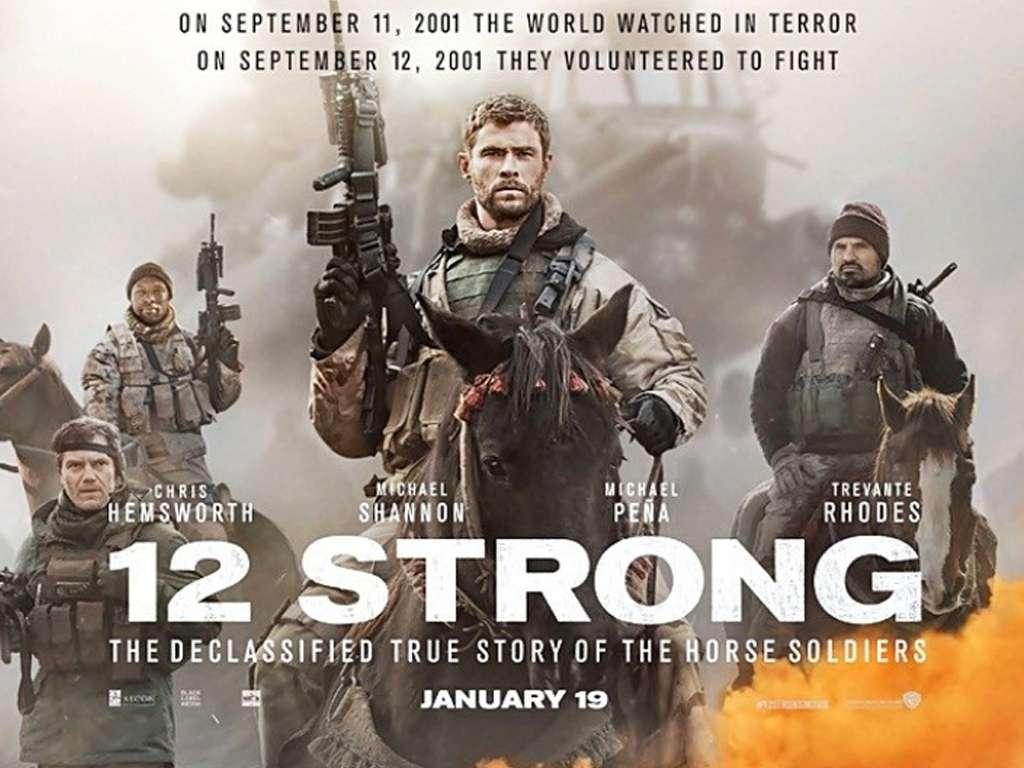 12 Δυνατοί (12 Strong) Quad Poster Πόστερ