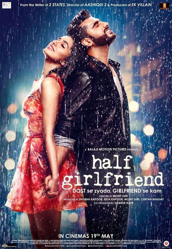 Poster Half Girlfriend 2017 Full Movie Download In HD Pre DVDRip