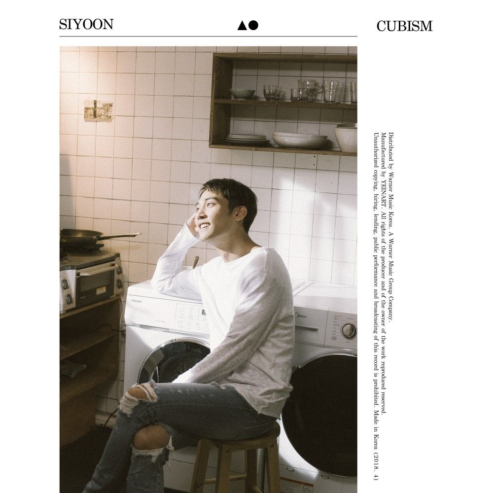 Download [Full Album] SiYoon - CUBISM - EP Mp3 Album Cover