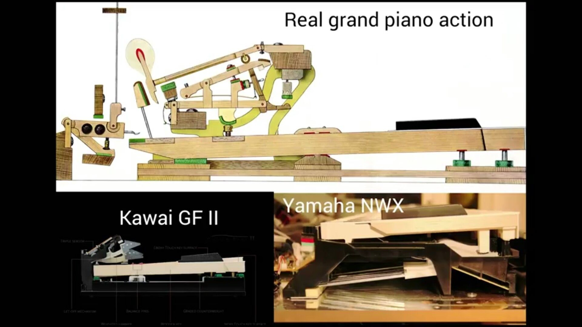 naked pics of grandtouch action piano world piano. Black Bedroom Furniture Sets. Home Design Ideas