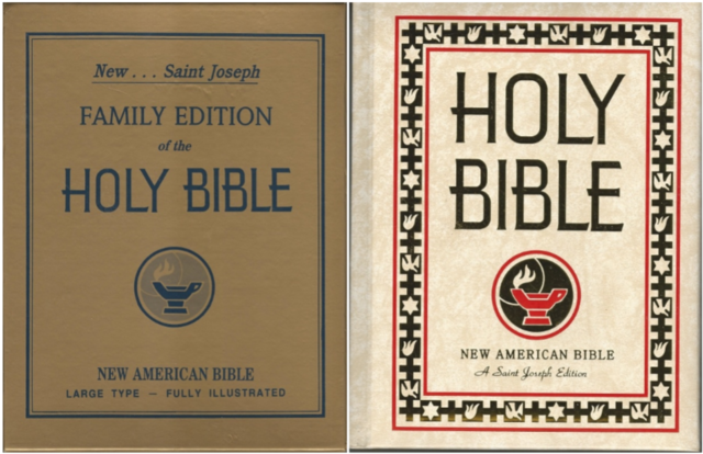 Saint Joseph Family Edition of the Holy Bible: The New American Bible, Large Type