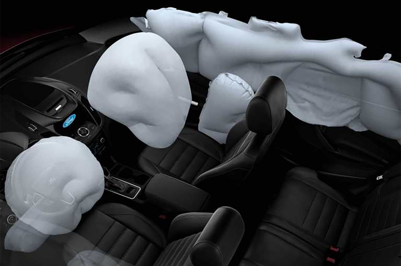 2018 Ford Escape Standard Airbags