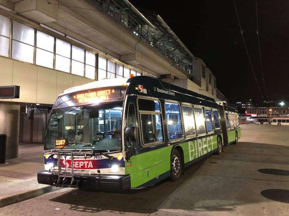 Septa Direct Boulevard Bus Is Operating