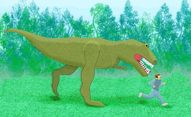Hungry T-Rex