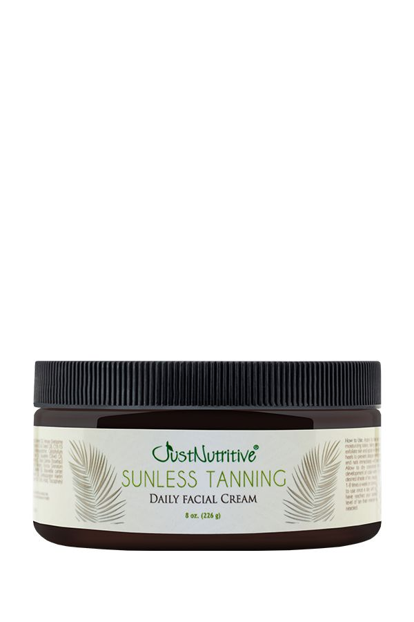 Just Nutritive Sunless Tanning Daily Facial Cream 8 oz