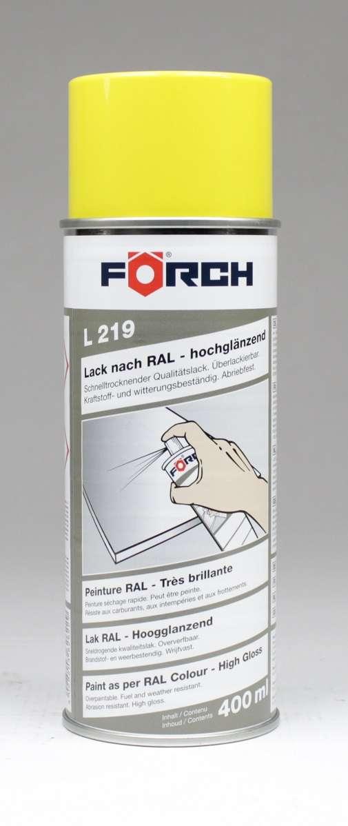 1x f rch lack lackspray gl nzend ral 1003 1033 spray farbe. Black Bedroom Furniture Sets. Home Design Ideas