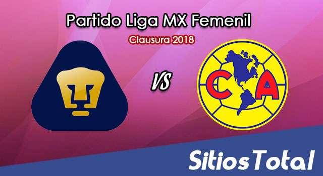 Pumas vs América en Vivo – Liga MX Femenil – Sábado 17 de Febrero del 2018