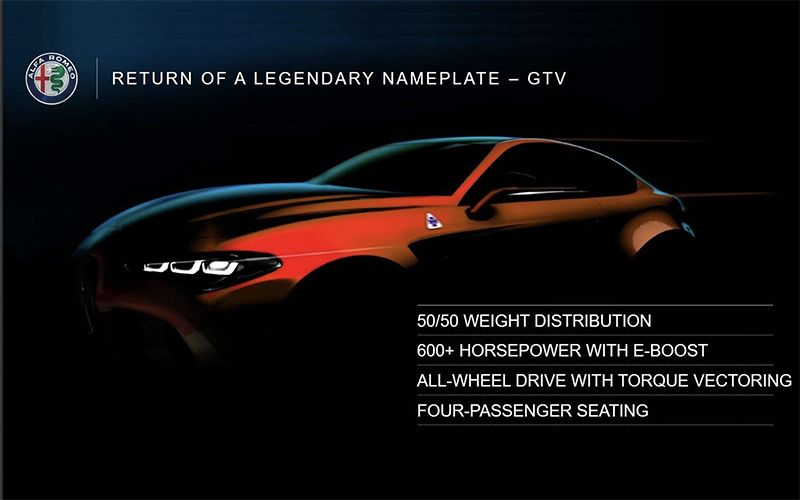 2022 Alfa Romeo GTV Quadrifoglio