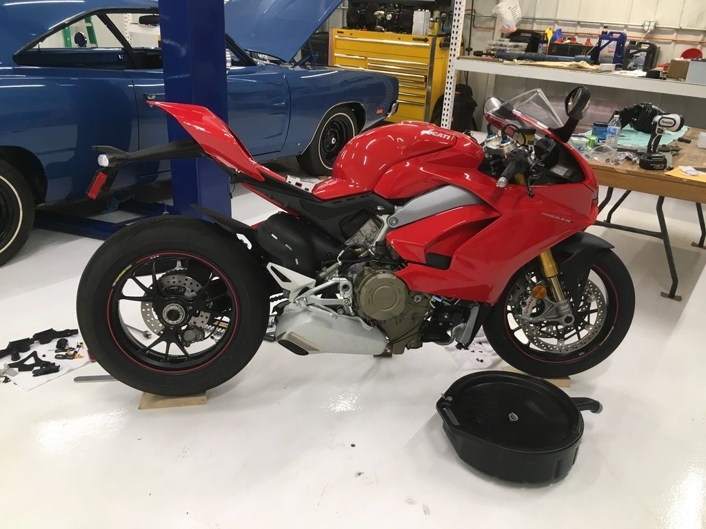 Oil change/etc Pic heavy  - Ducati Forum