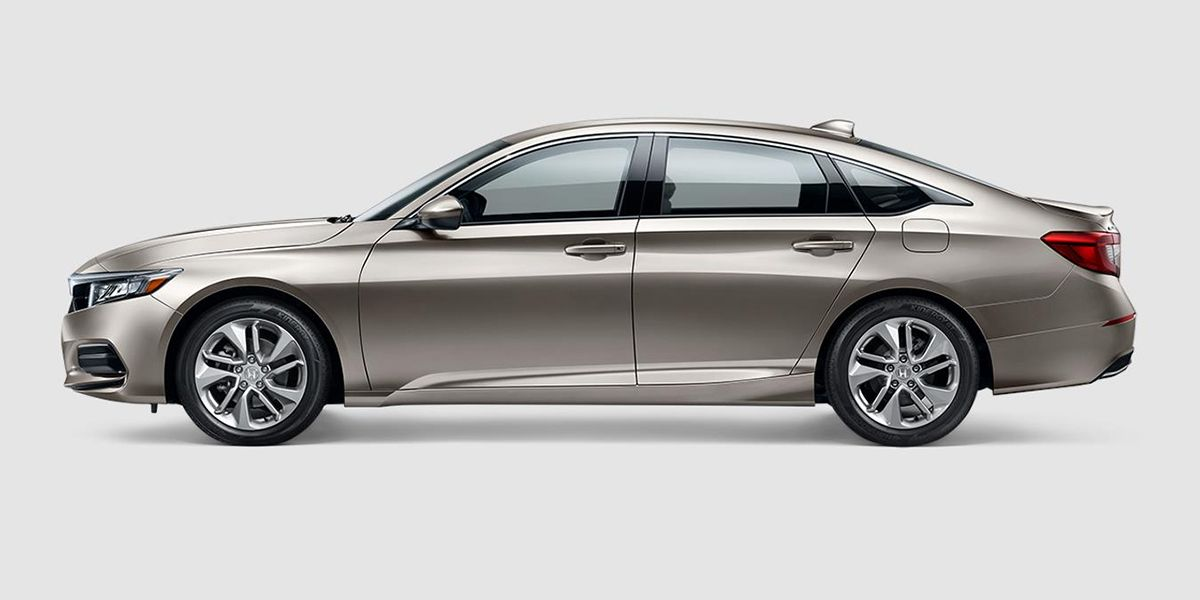 2018 Honda Accord LX in Champagne Frost