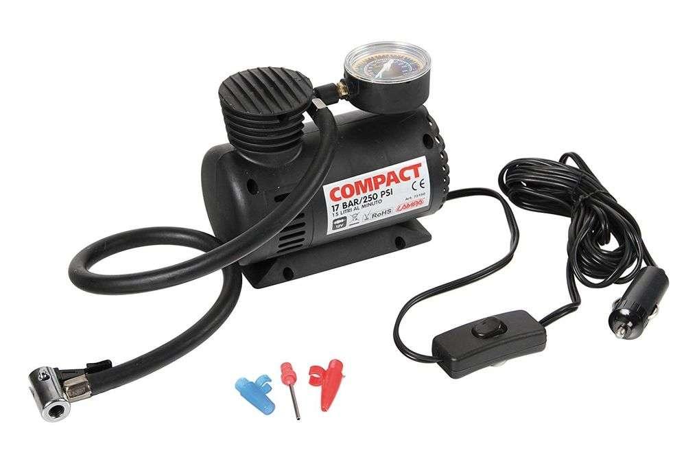 Mini compressore portatile da viaggio 12v per auto bici for Mini compressore portatile per auto moto bici 12v professionale accendisigari