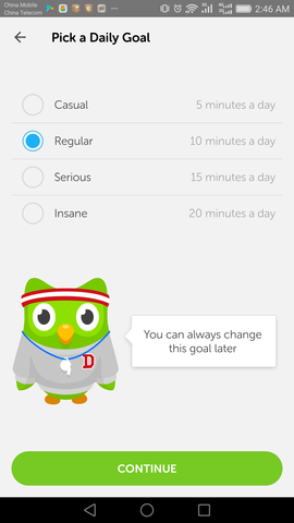 Start Learning Chinese with Duolingo