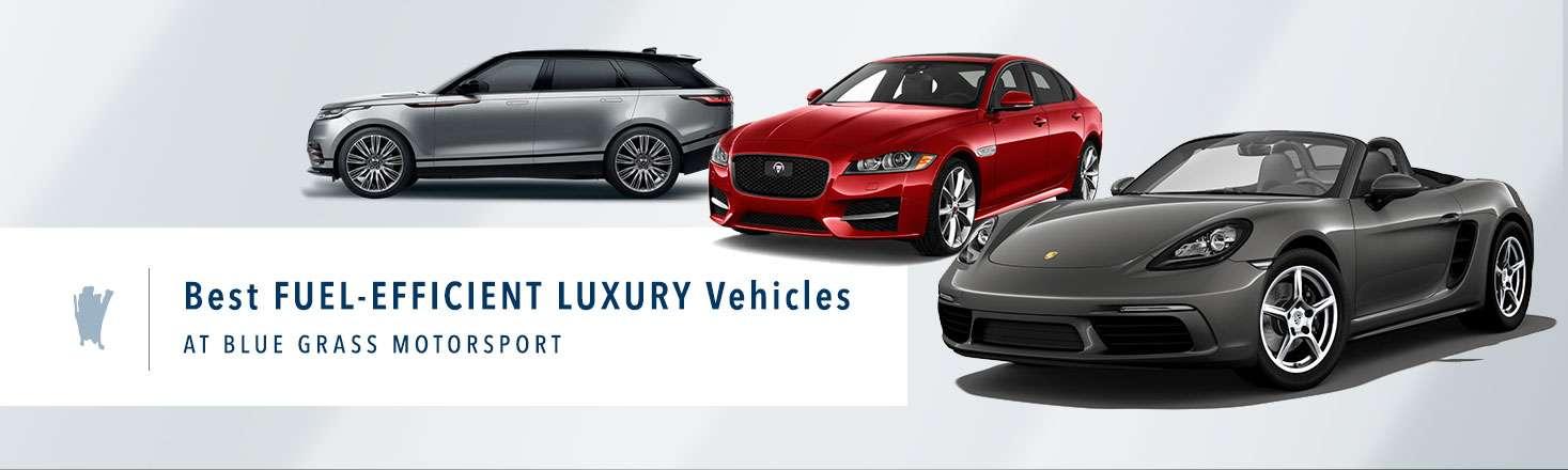 best fuel-efficient luxury vehicles Louisville, KY