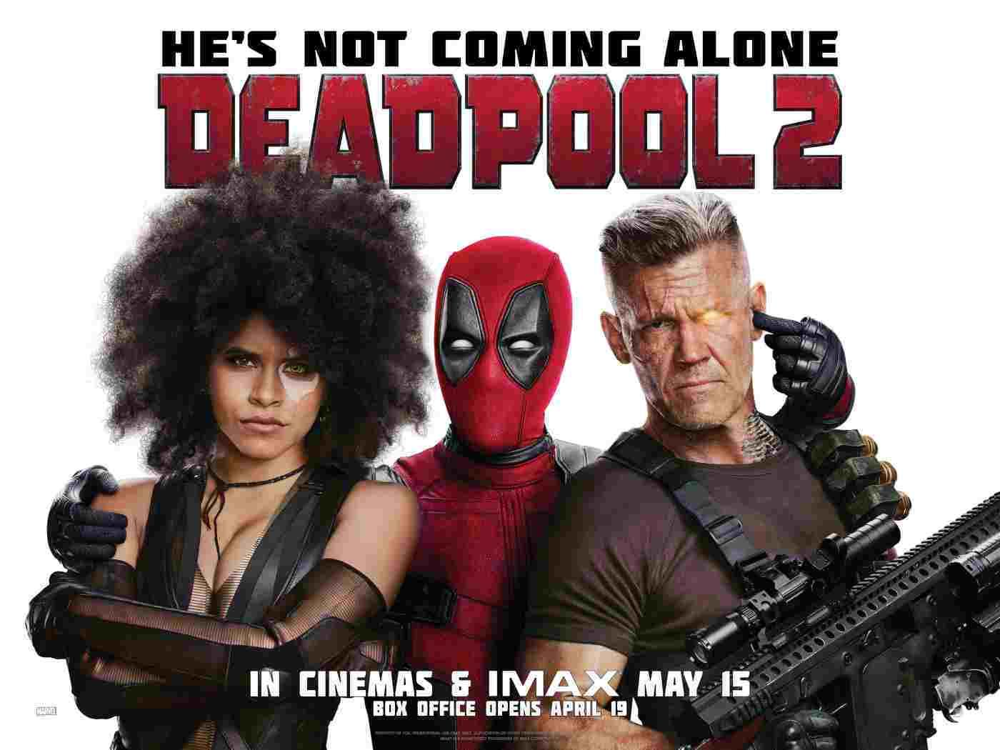 Deadpool 2 Quad Poster Πόστερ