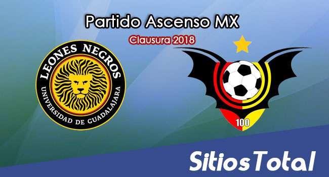 Leones Negros vs Murcielagos FC en Vivo – Ascenso MX – Domingo 4 de Marzo del 2018