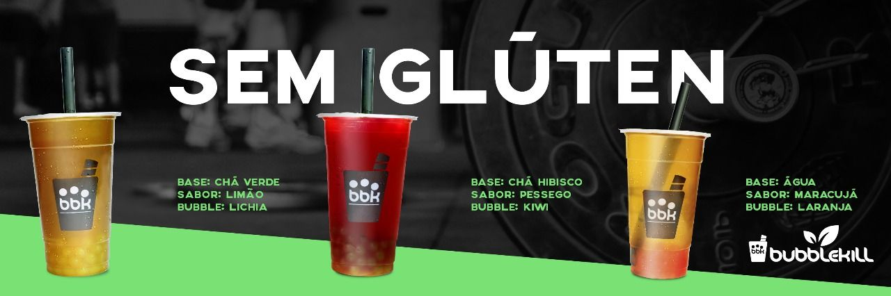 Bebidas 0% Lactose e Sem Glúten são novidades da Bubblekill